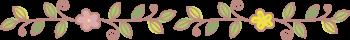 区切り線・お花