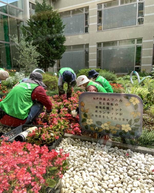 大阪南医療センターの作業風景