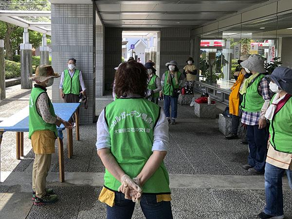 河内長野市役所ハンギング(14日)19
